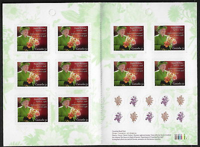 Canada Stamps - Booklet Pane of 10 - Queen Elizabeth II #2142a (BK321) - MNH