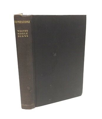 Tombstone-Walter Noble Burns-First/1st Edition/Early Printing-1929-VERY RARE!!