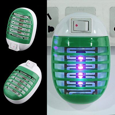 LED Electric Socket Mosquito Fly Insect Bug Trap Night Lamp Killer Zapper AU