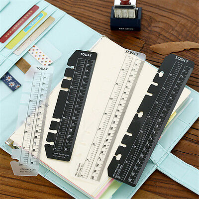 A5/A6 Size Today Page Marker Frosted Plastic Ruler Insert Refill Organiser NEW