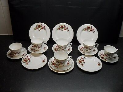 duchess indian tree english bone china tea dinner service set vintage retro picclick uk. Black Bedroom Furniture Sets. Home Design Ideas