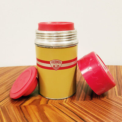 1950 THERMOS, The American Thermos Bottle Company, no 5054, Polly Red Top