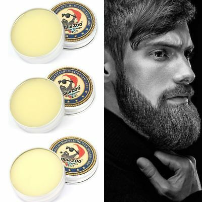 Blue ZOO Natural Beard Balm Moisturizing Sandalwood Eucalyptus Organic Beard Wax