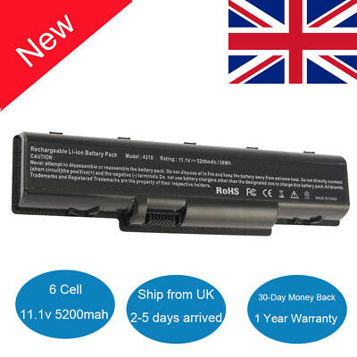 6CellS Laptop Battery For Acer Aspire 5535 5536 5735 AS07A31 5738Z 5738G AS07A75