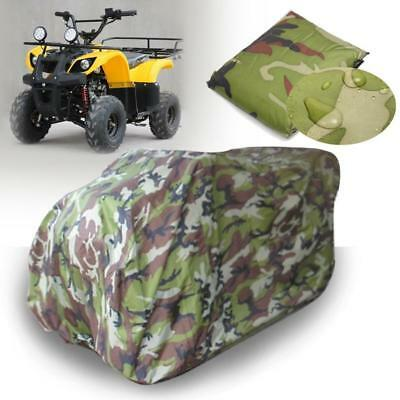 L Size Universal ATV Camo Protect Cover Waterproof Dustproof Anti-UV