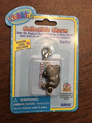Webkinz charms lot 3 unopened