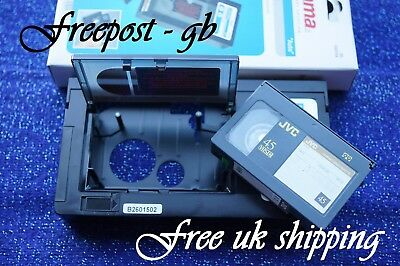 HAMA VHS-C & Super VHS-C ADAPTER - PLAY YOUR VHS-C CAMCORDER TAPES IN YOUR VIDEO