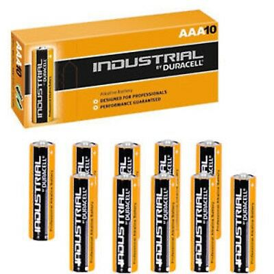 Duracell Industrial AAA  box 100 genuine stock exp 2023 *free next day delivery*