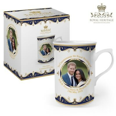 Prince Harry and Meghan Markle Royal Wedding China Cup - Very Collectable