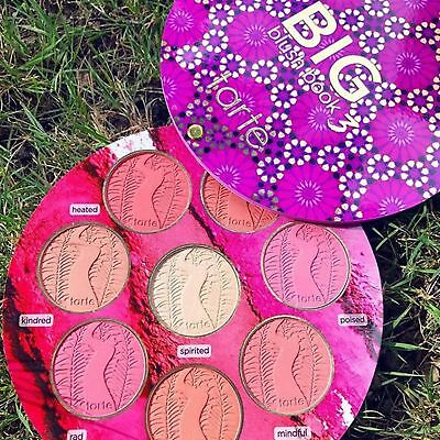 ❤️Tarte Big Blush Book 3 ❤️ 7 New Blushes & 1 Highlight Limited Edition❤️