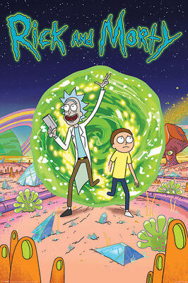 Collector Print 30cm x 41cm Rick /& Morty Compilation Poster
