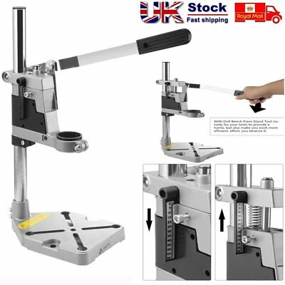 Universal Electric Drill Bench Drill Press Stand Base Table w/ Heavy Duty Frame