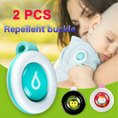 Baby Pregnant Woman Mosquito Repellent Badge Button Mosquito Clip Outdoor Health