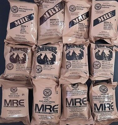 MRE of your Choice, Choose any Meal or Random Pick. Any One Menu's 1-12
