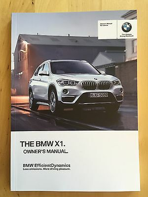 New BMW Owner's Manual X1 28i 2016-18