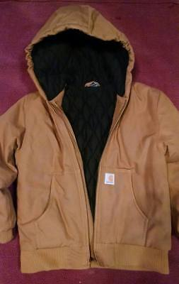 Carhartt Youth insulated hooded jacket. Size 10/12 large. Excellent condition.