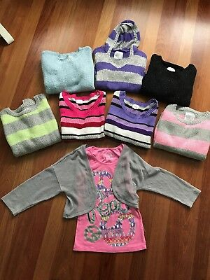 Lot Of 8 Girls Justice Tops Size 16