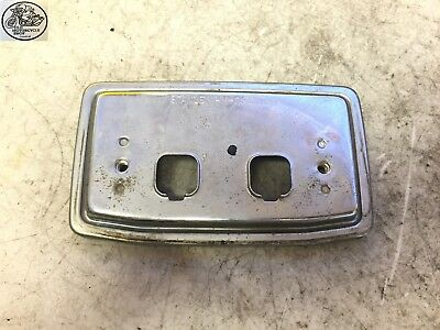 1982 Honda Cb750 Sc Nighthawk Rear Tail Light Mounting Plate Oem