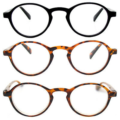 Retro Reading Glasses Classic Vintage Style Small Round Frame Men Women Readers