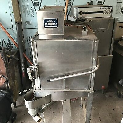 CMA Dishmachines C-2 Low Temp CORNER. Door Type Dishwasher 40 Racks/Hour.USED.