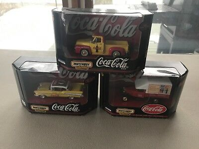 CHOOSE FROM 4 Matchbox Johnny Lightning Coca Cola 1:24 Scale Model Car Truck Van