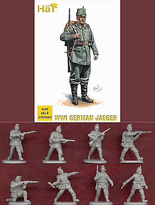 1:72 Figuren 8199 Wwi German Jaeger - Hät