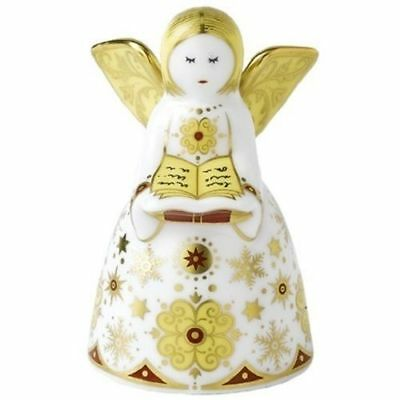 New Royal Crown Derby 1st Quality Sparkle Angel Paperweight