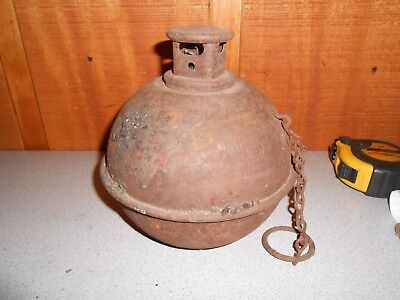 USED Vintage Anthes Flame Guard Smudge Pot No. 1701 Torch Railroad Lot 2