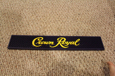CROWN ROYAL Bar Rail Mat NEW from old Stock