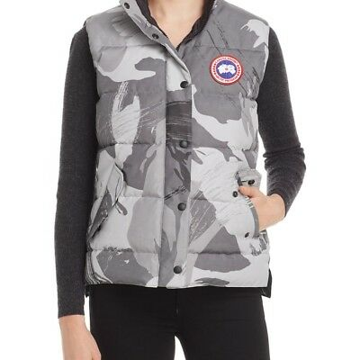 New Canada Goose Womens Freestyle Camo Down Vest