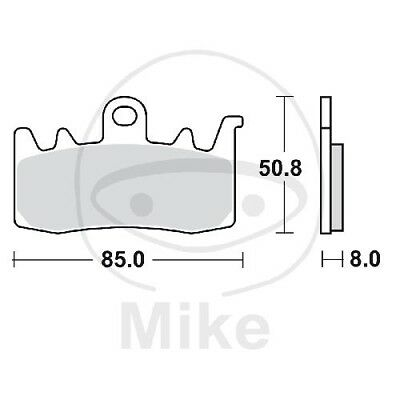 TRW Lucas brake pads sintered MCB856SV front BMW R 1200 GS Adventure LC ABS 2014