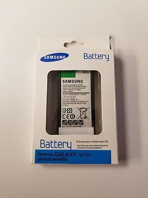 Original OEM New Samsung Galaxy Note 5 EB-BN920ABA  In Retail package