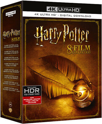 Harry Potter Complete 8 Film Collection 4K Ultra HD UHD Blu-ray Boxset New