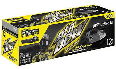 Mountain Dew Tropical Smash Game Fuel - 12 pack of unopened cans