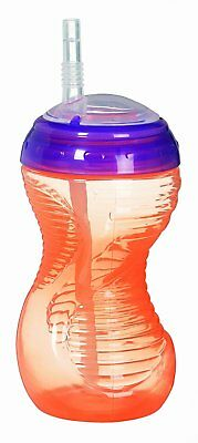 Munchkin Mighty Grip Straw Cup, 10 Ounce Colors May Vary ( Blue, Green, orange)