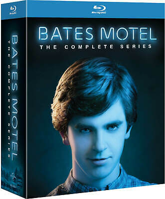 Bates Motel The Complete Season Series 1-5 Collection Blu-ray Boxset Region Free