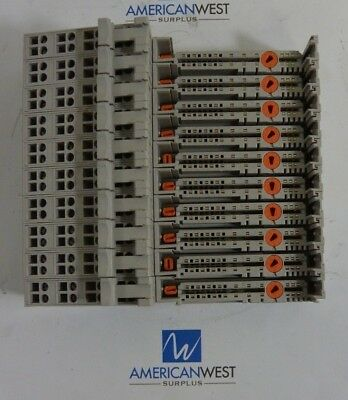 1734MB 1734-MB with 1734-RTB Allen Bradley Mounting Base I/O LOT OF 10