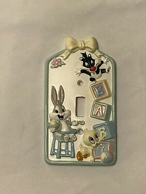 Vintage Baby Looney Tunes Light Switch Cover