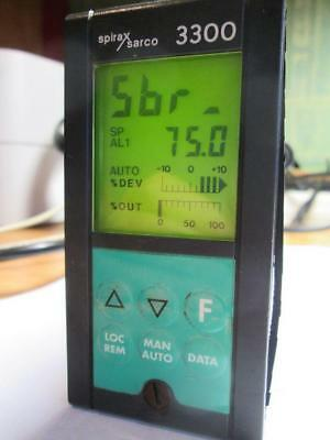 Spirax Sarco 3300 The PID thermostat is programmable with a digital display.