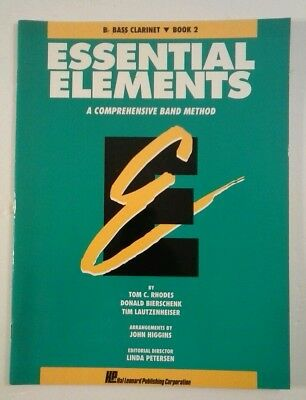 Musical Instruments & Gear Inventive Essential Elements For Band Book 2 With Eei Bb Bass Clarinet Book Medi 000862593 Instruction Books, Cds & Video