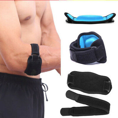 Adjustable Tennis Golf Elbow Support Brace Strap Band Forearm Protection AY