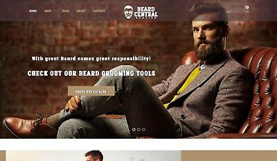 Online Business - Beard Central Station