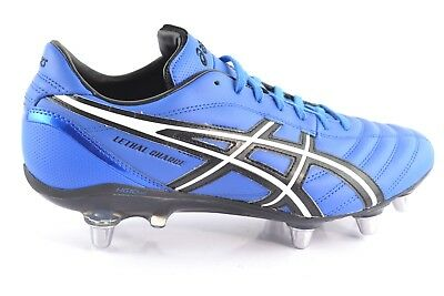 Asics Lethal Batch Blue Black Men's Rugby Shoes Rugby Sports Shoes Trainers