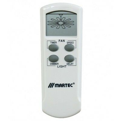 Martec Premium LCD Remote Control Kit - 3 Speed, Timer & Dimmer - MPLCD