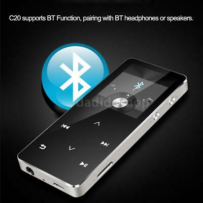 HiFi Metal Bluetooth MP3 Music Player Loseless Audio FM Radio Voice Recording TF
