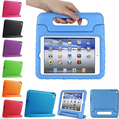 Kids Shock Proof Foam Case Handle Cover Stand for iPad 2017 Air 2 Mini 4 Pro 9.7