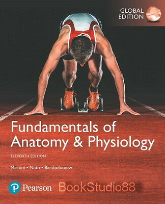 NEW 3 DAYS to US Fundamentals of Anatomy and Physiology 11E Martini ...