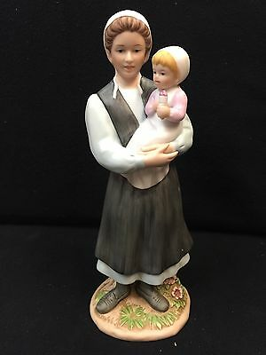Homco AMISH LADY WITH BABY -Rebekah's Baby-#14961 NEW!! Vintage