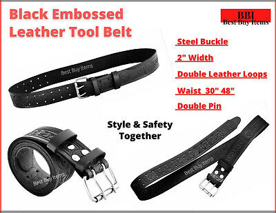 Scaffolding New BROWN Leather Tool Belt Heavy Duty Professional scaffolders 2''