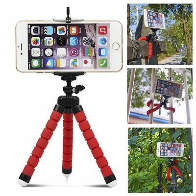 Mini Smart Phone Camera Cam Tripod Stand Holder for iPhone X 8 Samsung S8 Note 8